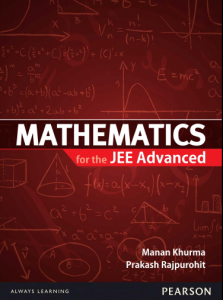 Advanced Problems in Mathematics for JEE
