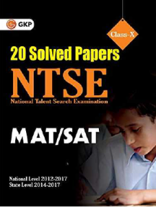NTSE 20 Solved Papers SAT & MAT